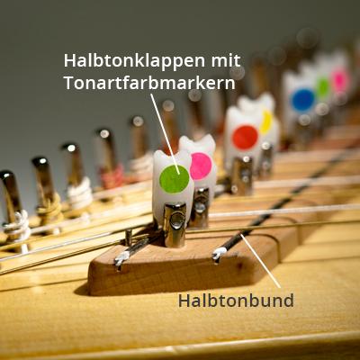 Halbtonbund Luber Harfe